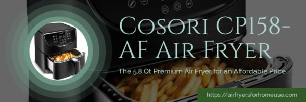 Cosori CP158-AF Premium Air Fryer Featured Image