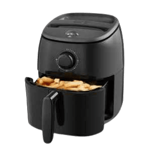6 Top Rated Air Fryers-for One Person-Dash Hot Air Fryer DCAF200GBBK02