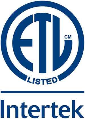 Intertek ETL Listed