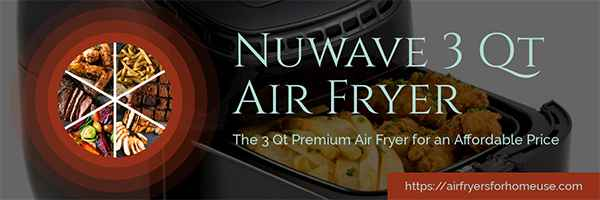 NuWave 3 Qt Air Fryer Featured Image